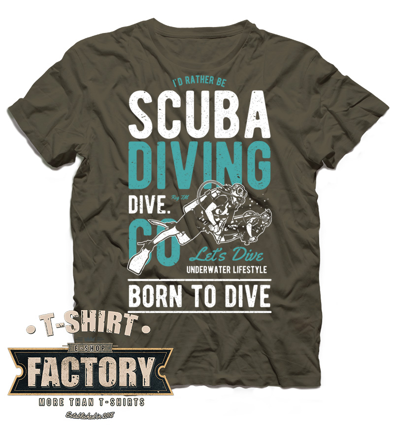 Tričko Scuba Diving
