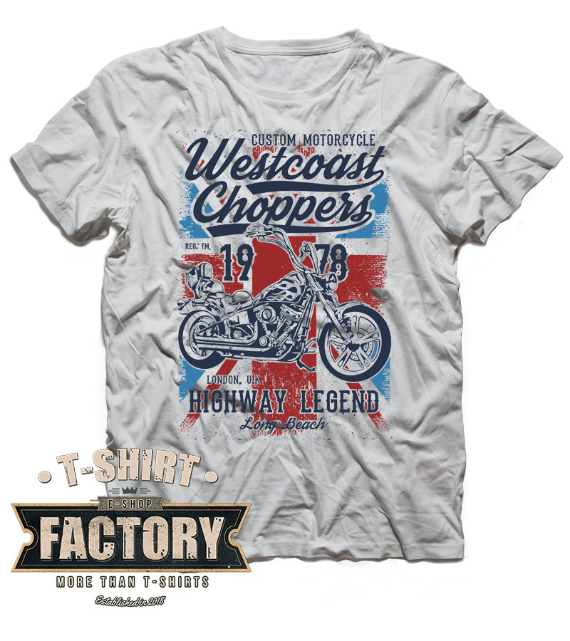 Tričko Westcoast Choppers